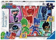 PJ Masks 60pc Glow in the Dark Puzzle - image 1 - Click to Zoom