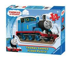 Thomas & Friends Shaped Giant Floor Puzzle, 24pc - image 1 - Click to Zoom