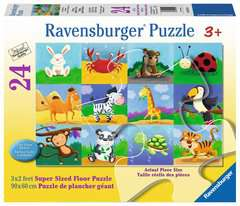 Sonstige Ravensburger Construction Duty  24 Piece Floor Puzzle