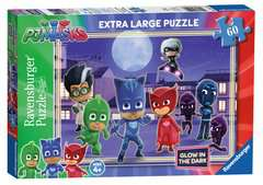 PJ Masks Glow in the Dark Puzzle, 60pc - image 1 - Click to Zoom