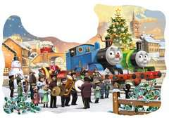 Thomas & Friends Shaped Chistmas Puzzle, 32pc with Door Hanger - image 2 - Click to Zoom