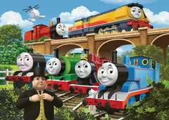 Thomas & Friends Rebecca joins the Team, 24pc Giant Floor Jigsaw Puzzle - image 2 - Click to Zoom