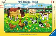 Farm Animals in the Meadow - image 1 - Click to Zoom