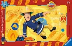 Puzzle cadre 15 p - Sam en action / Sam le pompier - Image 1 - Cliquer pour agrandir