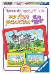 Esel, Schaf und Ziege Baby und Kleinkind;Puzzles - Bild 1 - Ravensburger