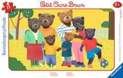 Puzzle cadre 15 p - Photo de famille / Petit Ours Brun - Image 1 - Cliquer pour agrandir