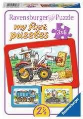 Graafmachine, tractor en kiepauto - image 1 - Click to Zoom