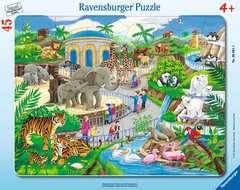 Puzzle cadre 30-48 p - Visite au zoo - Image 1 - Cliquer pour agrandir