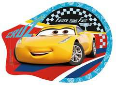 Disney Pixar Cars 3 Four Shaped Puzzles - image 2 - Click to Zoom