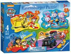 Paw Patrol Four Large Shaped Puzzles - image 1 - Click to Zoom