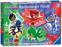 PJ Masks Four Shaped Puzzles - image 1 - Click to Zoom