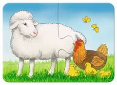 Liebenswerte Bauernhoftiere Baby und Kleinkind;Puzzles - Bild 2 - Ravensburger