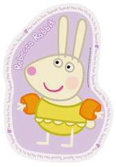 Peppa Pig Four Large Shaped Puzzles - image 4 - Click to Zoom