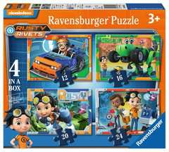 Rusty Rivets 4 in a Box - image 1 - Click to Zoom