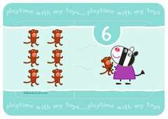 Peppa Pig My First Match and Count Puzzles, 9 x2pc - image 6 - Click to Zoom