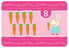 Peppa Pig My First Match and Count Puzzles, 9 x2pc - image 8 - Click to Zoom