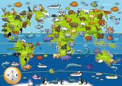 Animals of the World Giant Floor Puzzle, 60pc - image 2 - Click to Zoom