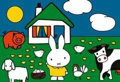 nijntje bij de dieren / miffy à la ferme - Image 3 - Cliquer pour agrandir