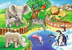 Animals in the Zoo        2x12p - Billede 2 - Klik for at zoome
