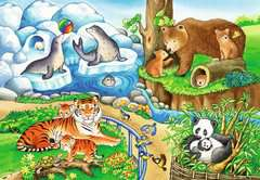 Animals in the Zoo        2x12p - Billede 3 - Klik for at zoome