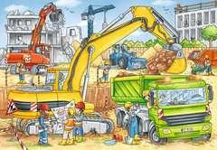 Puzzles 2x24 p - Beaucoup de travail sur le chantier - Image 3 - Cliquer pour agrandir