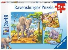 Les grands sauvages Puzzle;Puzzle enfant - Image 1 - Ravensburger