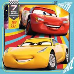 Disney Pixar Cars 3, 3 x 49pc - Billede 2 - Klik for at zoome