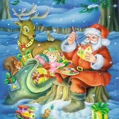 Weihnachtszauber Puzzle;Kinderpuzzle - Bild 3 - Ravensburger