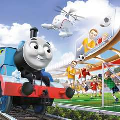 Thomas Watches Soccer - image 2 - Click to Zoom