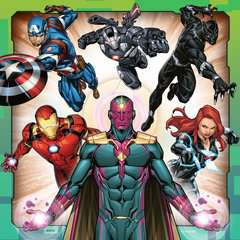 Avengers Assemble 3x49pc - image 3 - Click to Zoom