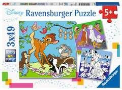 Puzzles 3x49 p - Les amis Disney - Image 1 - Cliquer pour agrandir