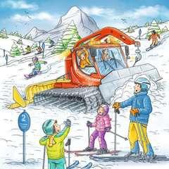 Auf der Skipiste - Bild 2 - Klicken zum Vergößern