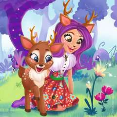 Puzzles 3x49 p - Le monde merveilleux des Enchantimals - Image 4 - Cliquer pour agrandir