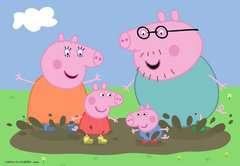 Puzzles 2x24 p - La vie de famille / Peppa Pig - Image 2 - Cliquer pour agrandir