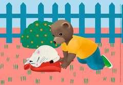 Puzzles 2x24 p - Petit Ours Brun à la maison - Image 2 - Cliquer pour agrandir