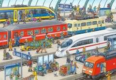 Trubel am Bahnhof - Bild 2 - Klicken zum Vergößern