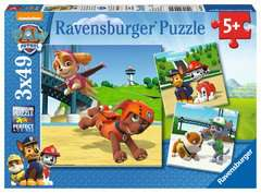 Paw Patrol 3x49pc - Billede 1 - Klik for at zoome