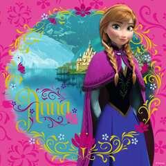 Puzzles 3x49 p - Elsa, Anna & Olaf / Disney La Reine des Neiges - Image 4 - Cliquer pour agrandir
