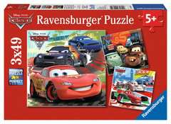 Disney Cars: Worldwide Racing Fun Jigsaw Puzzles;Children s Puzzles - image 1 - Ravensburger