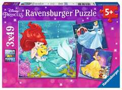 Disney Princess 3x49pc - Billede 1 - Klik for at zoome