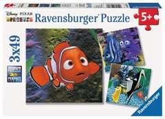 Puzzle 3x49 p - Dans l'aquarium / Némo - Image 1 - Cliquer pour agrandir