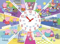 Peppa Pig Clock Puzzle, 60pc - image 2 - Click to Zoom