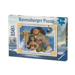 Puzzle 150 p XXL - Aventureuse Vaiana / Disney - Image 1 - Cliquer pour agrandir