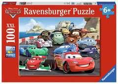 Brisantes Rennen Puzzles;Kinderpuzzle Ravensburger