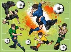 Im Fußballfieber Puzzle;Kinderpuzzle - Bild 2 - Ravensburger