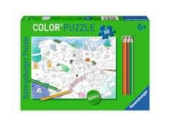 Color'puzzle 80 p - Les animaux / OMY - Image 1 - Cliquer pour agrandir