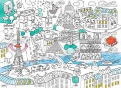 Color'puzzle 80 p - En ville / OMY - Image 2 - Cliquer pour agrandir