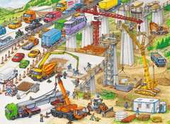Riesige Baustelle Puzzle;Kinderpuzzle - Bild 2 - Ravensburger