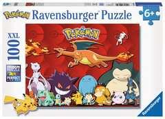 Puzzle 100 p XXL - Mes Pokémon préférés - Image 1 - Cliquer pour agrandir