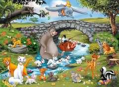 Puzzle 100 p XXL - La famille d'Animal Friends / Disney - Image 2 - Cliquer pour agrandir